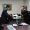 JR東日本から感謝状が贈呈されました。