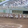 第103回全国高等学校野球選手権 山梨大会 初戦